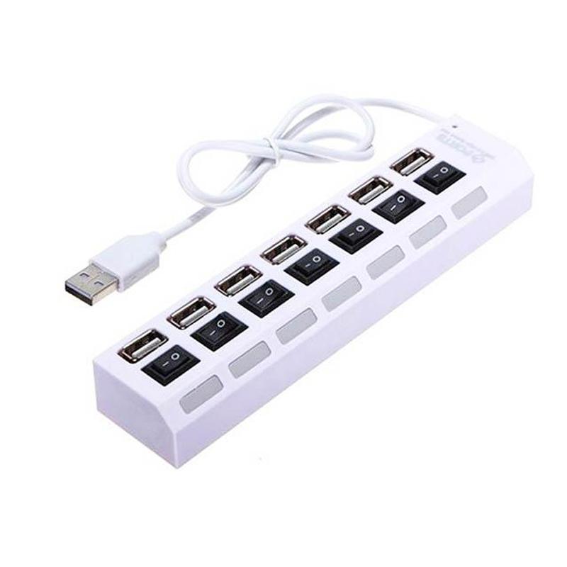 هاب USB2 کامپیوتر 7پورت مدل HI-SPEED