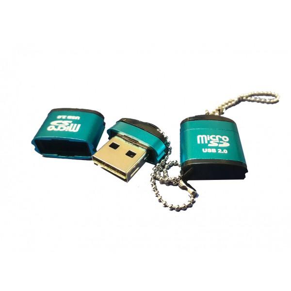رم ریدر میکرو تک کاره زنجیردار MicroSD