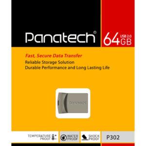 فلش مموری پاناتک USB2 مدلP302 ظرفیت 64 گیگابایت