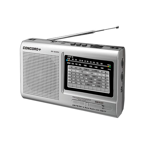 رادیو اسپیکر بلوتوثی کنکورد پلاس  RF-608U