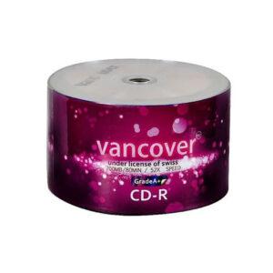 سی دی ونکوور VANCOVER شرینگ 50 عددی