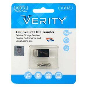 فلش مموری وریتی USB3 مدلV813 ظرفیت 64 گیگابایت