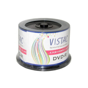 DVD VISTAC ویستک باکس دار 50 عدد