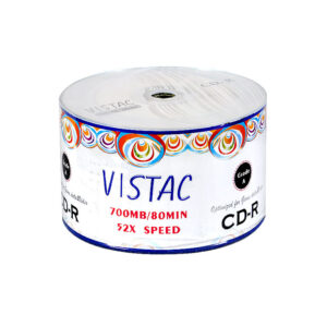 سی دی ویستک CD VISTAC باکس دار 50 عددی