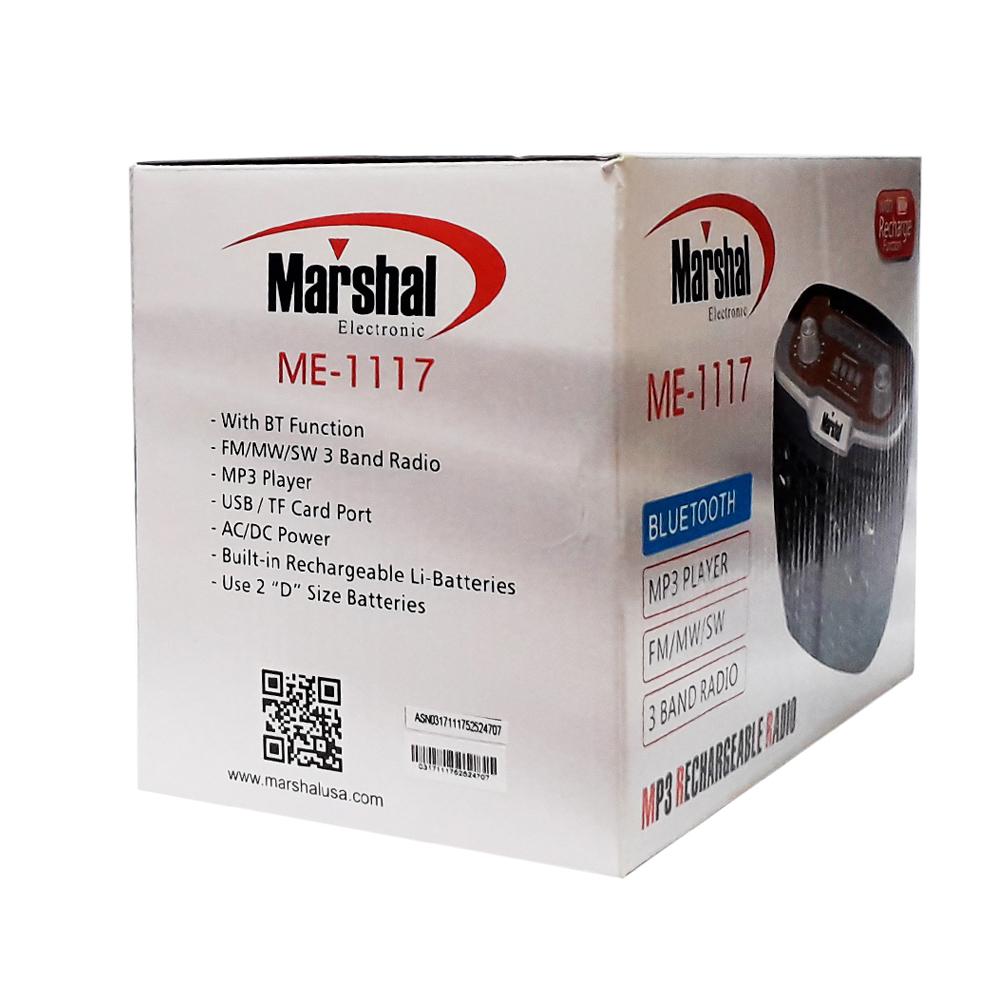 رادیو اسپیکر رم و فلش خور Marshal ME-1117
