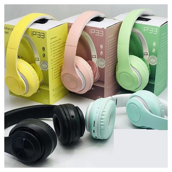 هدفون بی سیم Bluetooth wireless headphones p33