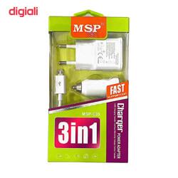 آدابتور موبایل فست شارژ SAMSUNG  MSP-003