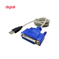 کابل تبدیل USB به 25 پین ماده پارالل